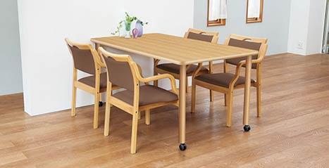 介護施設用テーブル