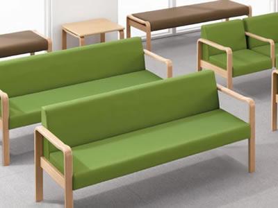 待合室椅子 / エントランスベンチ