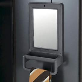 鏡とタオル掛け付属