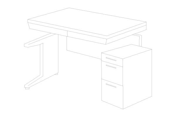 組み立てや解体が容易なノックダウン構造なので、搬入や廃棄時も便利です。