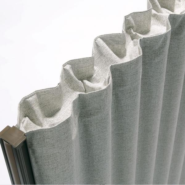 内部へほこり等の混入を防ぎ、見た目にも上質な仕上がりのカバーが付いています。※高さ1300mmタイプのみ