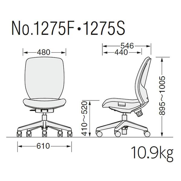 No.1275F・No.1275S