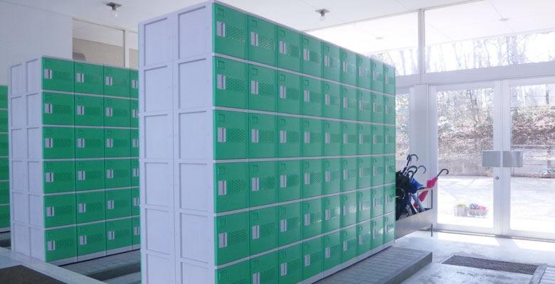 プラスチックシューズボックス