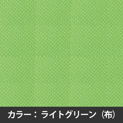 ライトグリーンのカラーサンプル。防汚加工・光触媒。