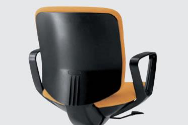 シェルカラー:ブラック(画像の張地カラーはオレンジです)