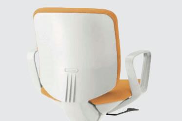 シェルカラー:ホワイト(画像の張地カラーはオレンジです)