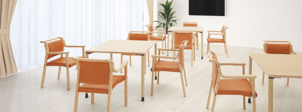オカムラ LZ 木製チェアシリーズ