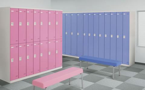 ホワイトとブルー・ピンクのロッカーをリリースしました!