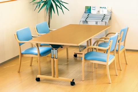 オフィスにも各施設にもどんなシーンでもピッタリなダイニングチェアーDCシリーズ