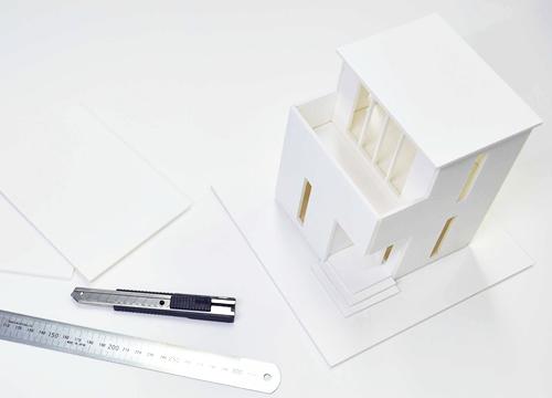 建築模型・立体物の制作に。