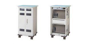 ライオン事務器 タブレット充電収納保管庫