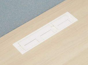 配線孔付き天板