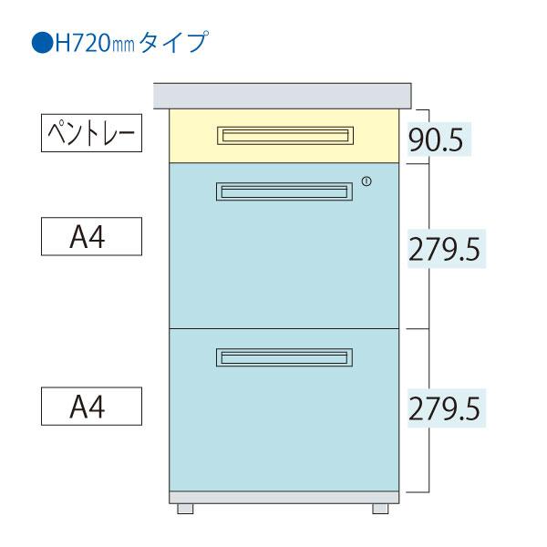 ※B4サイズ対応の引出しに変更可能です