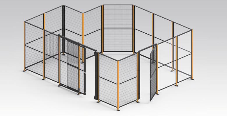 オカムラ プロフェンス 安全柵