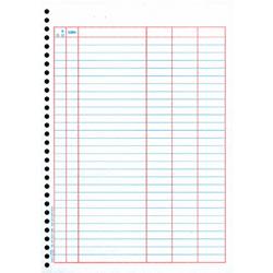 オービック 4124 単票バインダー元帳 (3420後継品)