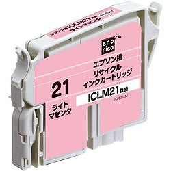 エコリカ ECI-E21LM リサイクルインク ライトマゼンタ