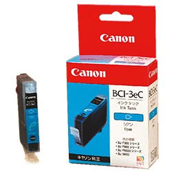 CANON 4480A001 BCI-3eC インクタンク シアン 純正