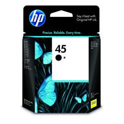 HP 51645AA NEC/hp共通 HP45 プリントカートリッジ 黒 純正
