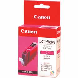 CANON 4481A001 BCI-3eM インクタンク マゼンタ 純正