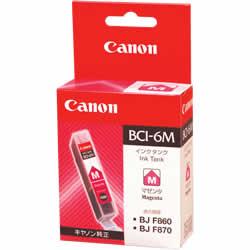 CANON 4707A001 BCI-6M インクタンク マゼンタ