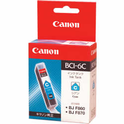 CANON 4706A001 BCI-6C インクタンク シアン