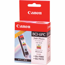 CANON 4709A001 BCI-6PC インクタンク フォトシアン