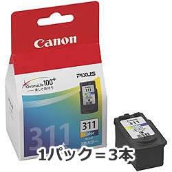 CANON 2968B001 BC-311 FINEカートリッジ 3色カラー 3本パック
