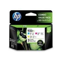 HP E5Y50AA HP920XL 3色マルチパック 3パックセット
