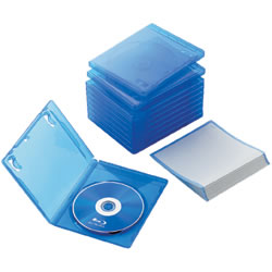 ELECOM CCD-BLU110CBU Blu-rayディスクケース