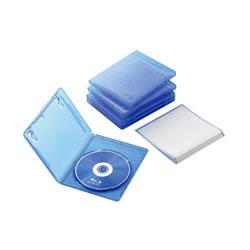 ELECOM CCD-BLU105CBU Blu-rayディスクケース(1枚収納タイプ)