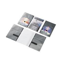 ELECOM CCD-DP2D10BK CD/DVD用スリム収納ソフトケース