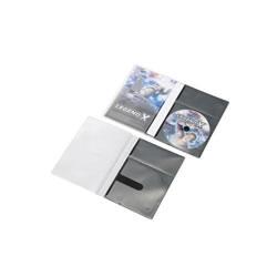 ELECOM CCD-DPD10BK CD/DVD用スリム収納ソフトケース
