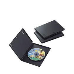 ELECOM CCD-DVD01BK DVDトールケース