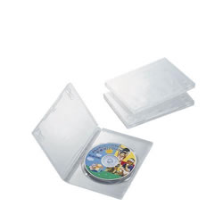 ELECOM CCD-DVD01CR DVDトールケース