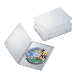 ELECOM CCD-DVD02CR DVDトールケース