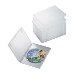 ELECOM CCD-DVD03CR DVDトールケース