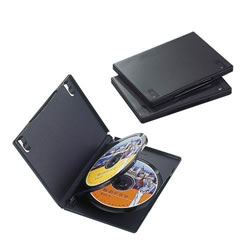 ELECOM CCD-DVD07BK DVDトールケース
