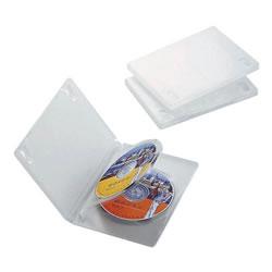 ELECOM CCD-DVD07CR DVDトールケース