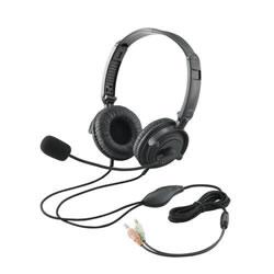 ELECOM HS-HP20BK ヘッドセット(両耳オーバーヘッド)