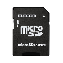 ELECOM MF-ADSD002 WithMメモリカード変換アダプタ