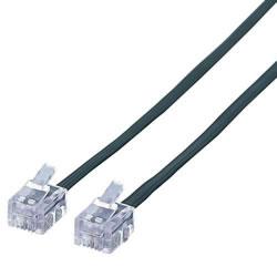 ELECOM MJ-1BK スリムモジュラーケーブル