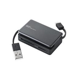ELECOM MRS-MB07BK タブレット・スマホ・PC対応メモリリーダライタ