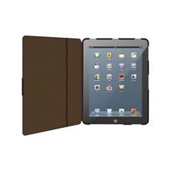 ELECOM TB-A12PLFBK iPad 2012用ソフトレザーカバー 2アングルタイプ
