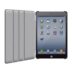 ELECOM TB-A12SPLF2BK iPad mini用ソフトレザーカバー4段階(ブラック)