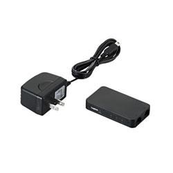 LOGITEC LAN-SW03PSBE 100BASE-TX対応 スイッチングハブ
