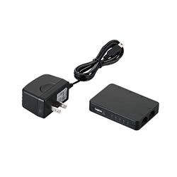 LOGITEC LAN-SW05PSBE 100BASE-TX対応 スイッチングハブ