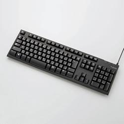ELECOM TK-FCM062BK USB接続 スタンダードキーボード
