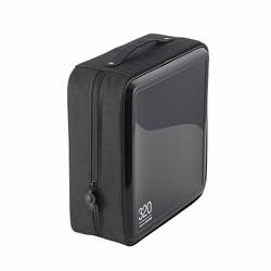 ELECOM CCD-H320BK CD/DVDファスナーケース