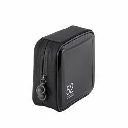 ELECOM CCD-H52BK CD/DVDファスナーケース