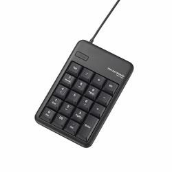 ELECOM TK-TCM011BK USBテンキーボード